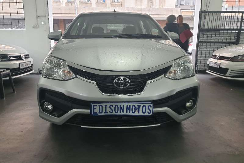 Toyota Etios sedan 1.5 Sprint 2019