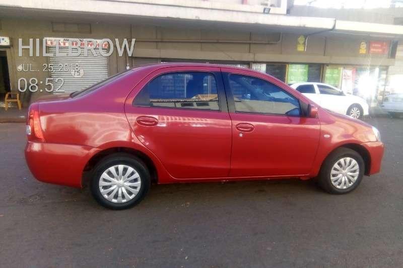 2014 Toyota Etios Etios sedan 1.5 Xi