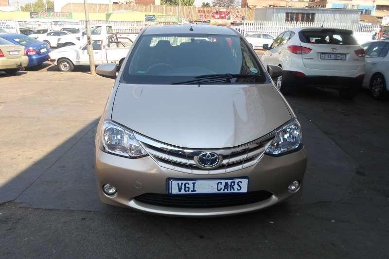 Toyota Etios sedan 1.5 Xi 2015