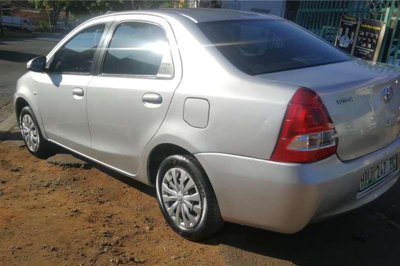 Used 2015 Toyota Etios sedan 1.5 Xi