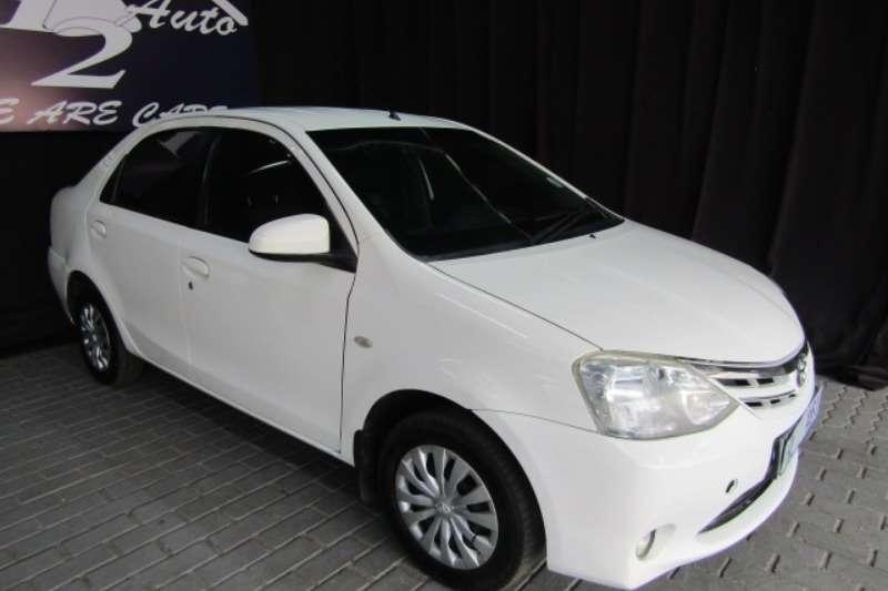 Toyota Etios sedan 1.5 Xi 2016