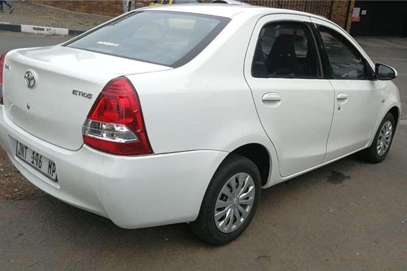 Used 2016 Toyota Etios sedan 1.5 Xi