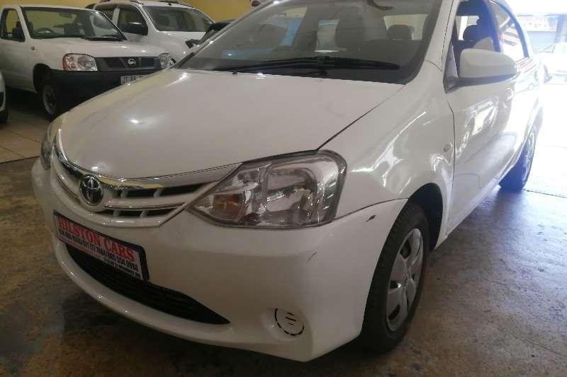 Used 2017 Toyota Etios sedan 1.5 Xi