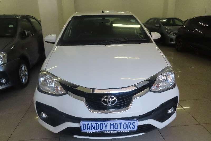 Toyota Etios sedan 1.5 Xi 2018