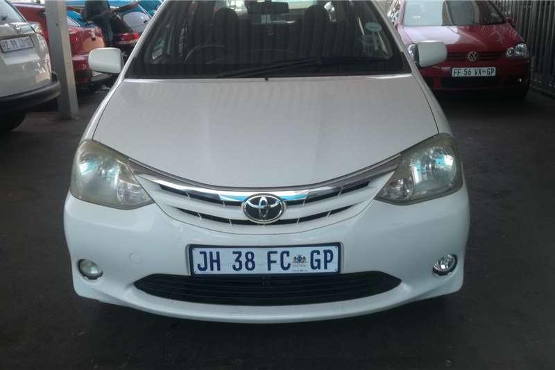 2012 Toyota Etios sedan