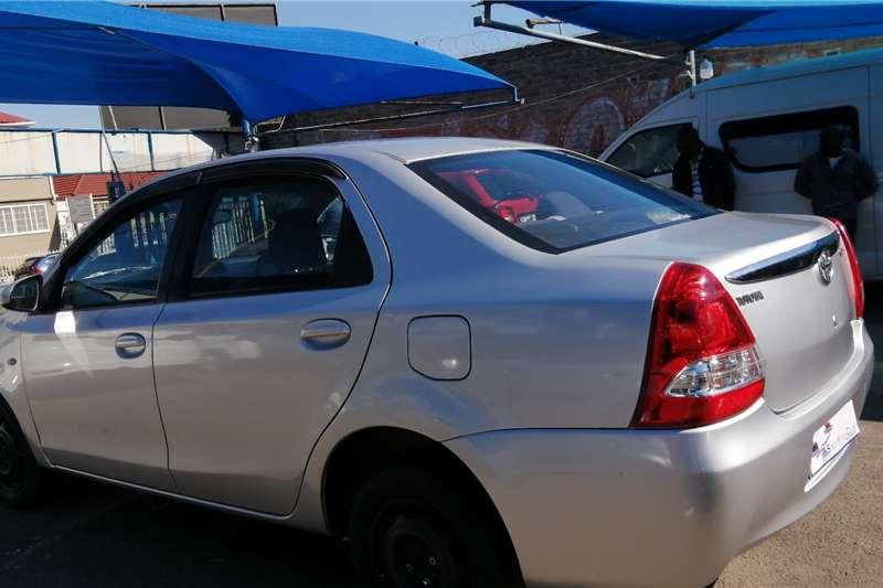 Used 2014 Toyota Etios sedan 1.5 Xs