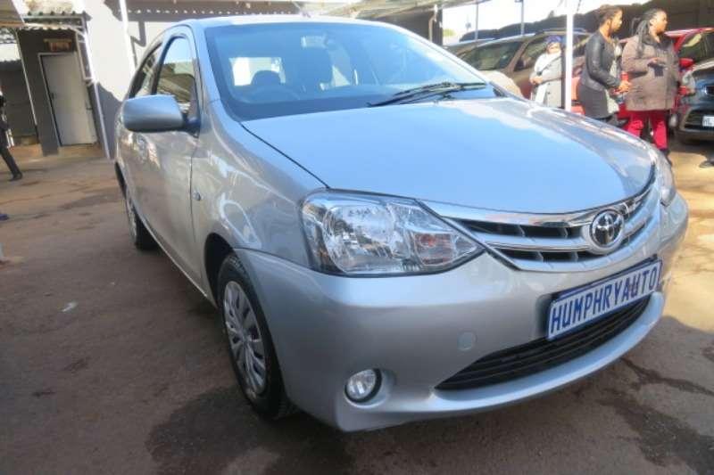 Toyota Etios sedan 1.5 Xs 2015