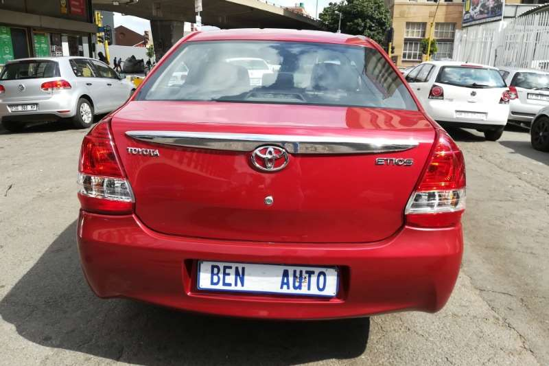 Toyota Etios sedan 1.5 Xs 2018