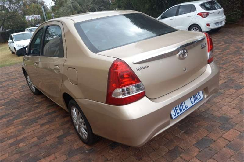 2018 Toyota Etios Etios sedan 1.5 Xs