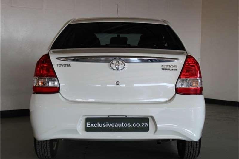 Toyota Etios sedan 1.5 Xs 2019