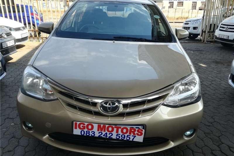 Used 2013 Toyota Etios Sedan