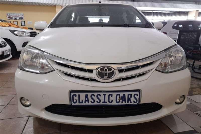 Used 2015 Toyota Etios Sedan