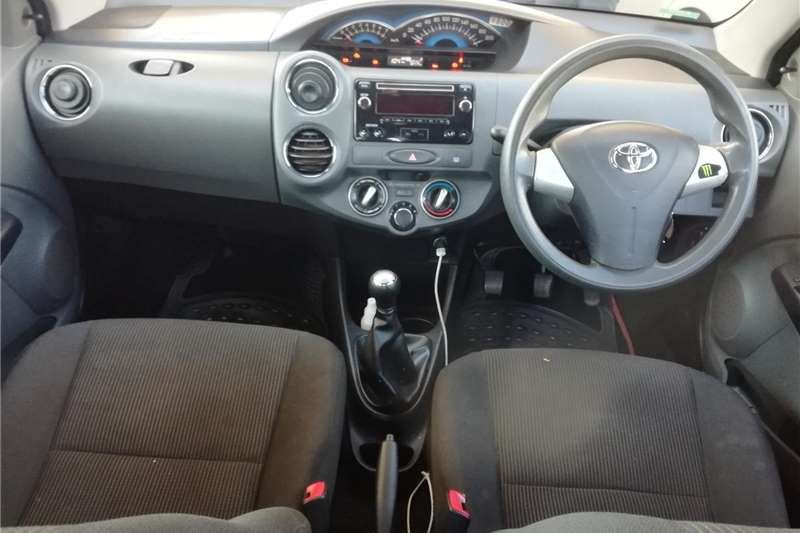 Used 2016 Toyota Etios Sedan