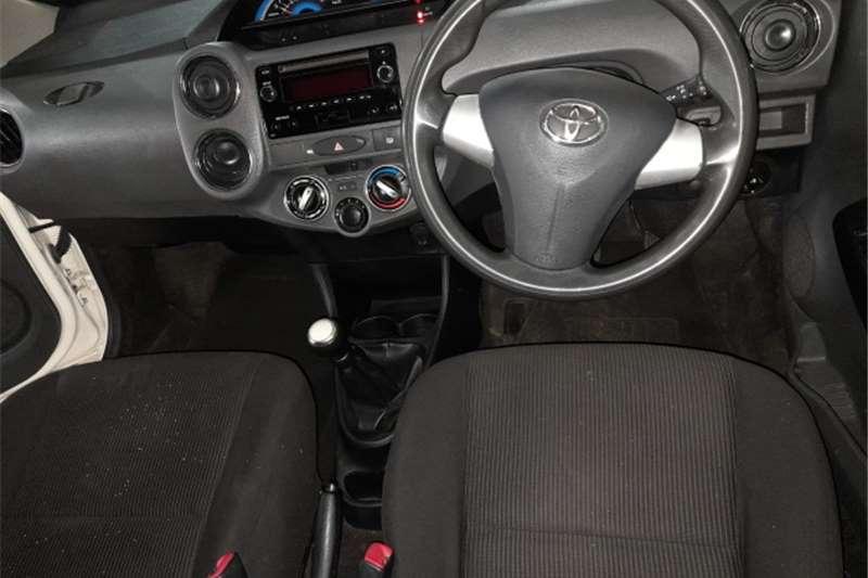 Used 2017 Toyota Etios Sedan
