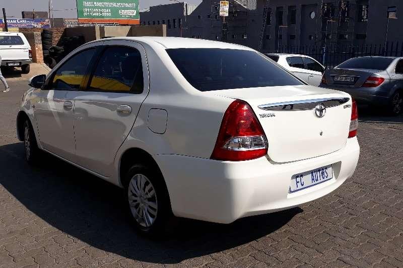 Used 2015 Toyota Etios Sedan ETIOS 1.5 Xs/SPRINT