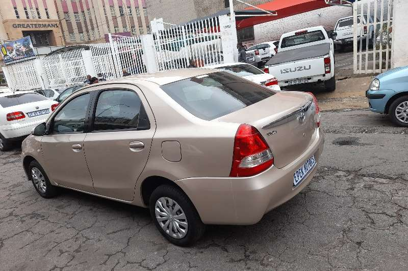 Used 2016 Toyota Etios Sedan ETIOS 1.5 Xs/SPRINT
