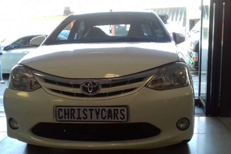 2017 Toyota Etios sedan ETIOS 1.5 Xi