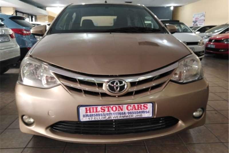 2015 Toyota Etios sedan ETIOS 1.5 Xi