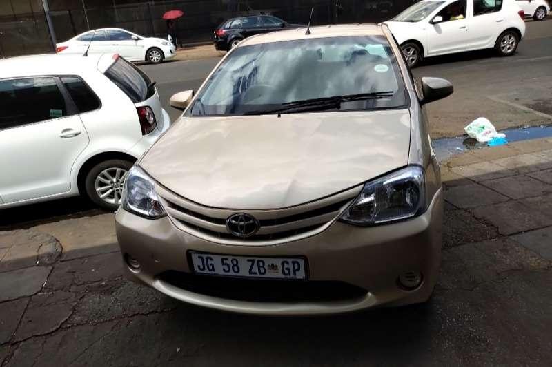 2013 Toyota Etios sedan ETIOS 1.5 Xi