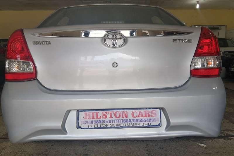 2017 Toyota Etios sedan