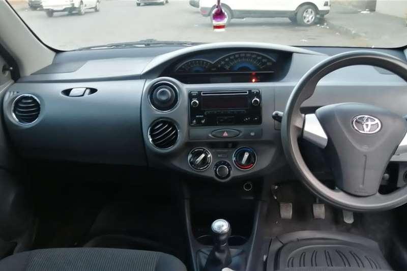 2018 Toyota Etios sedan