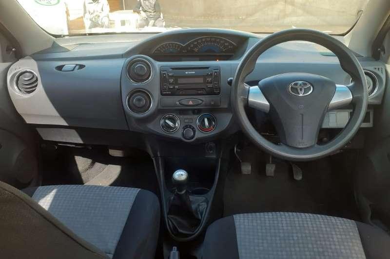 2015 Toyota Etios sedan