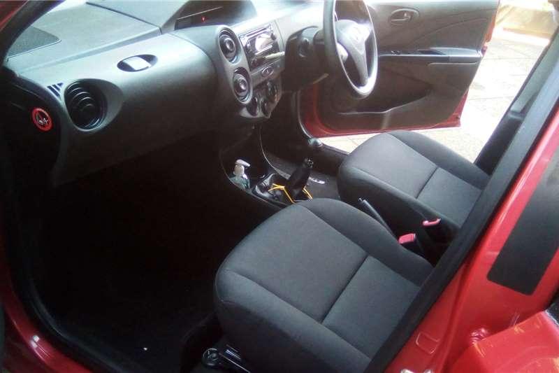 2020 Toyota Etios sedan