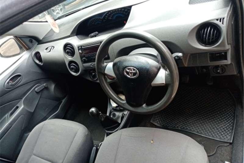 Toyota Etios Sedan Toyota Etois 1.5manual petrol 2017