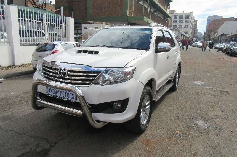 Toyota Fortuner 2.4GD 6 auto 2015