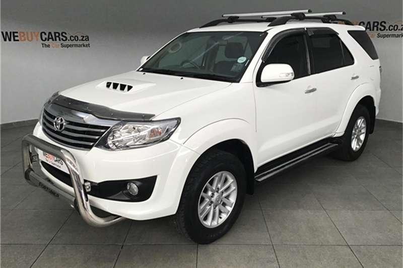 Toyota Fortuner 2.5D 4D 2013
