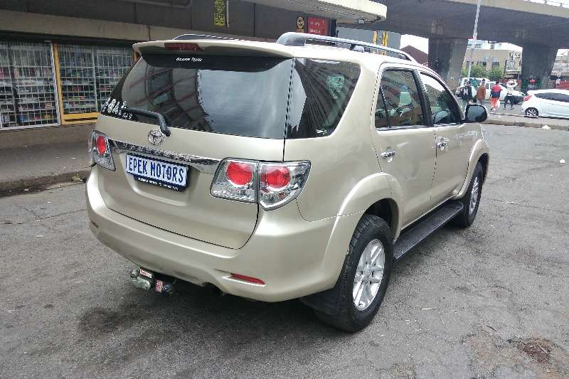 Used 2014 Toyota Fortuner 2.5D 4D auto