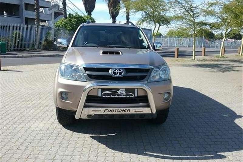Toyota Fortuner 3.0D 4D 2008