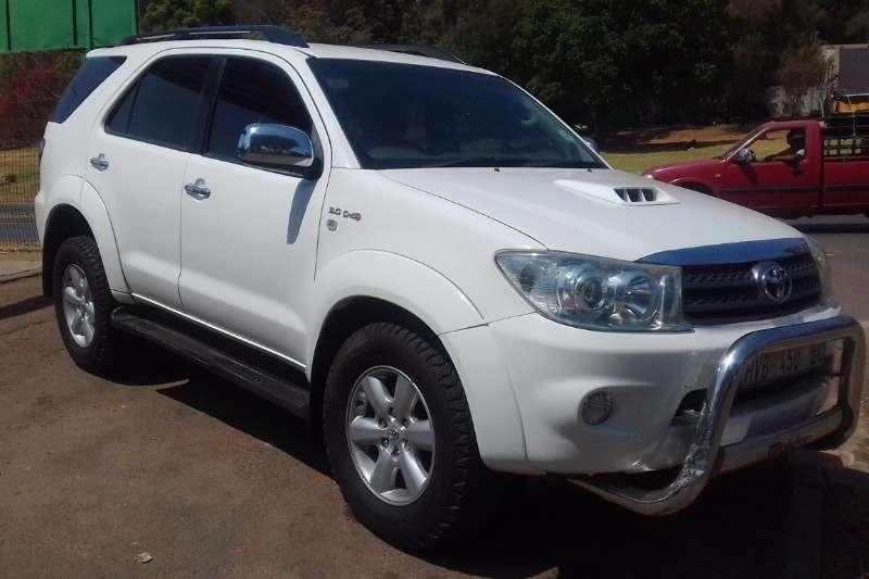 Toyota Fortuner 3.0D 4D 2010