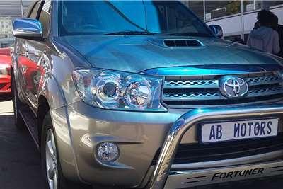 2010 Toyota Fortuner Fortuner 3.0D-4D