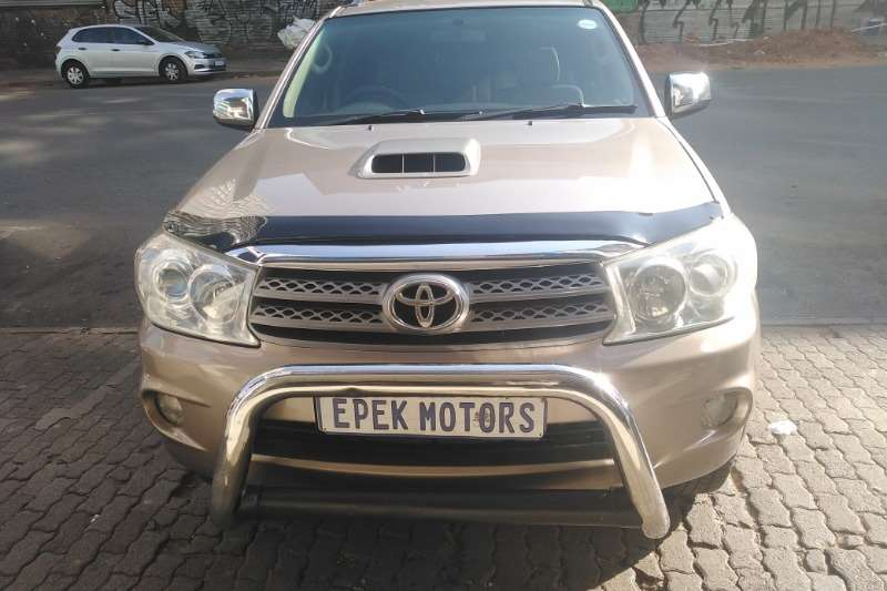 Used 2010 Toyota Fortuner 3.0D 4D