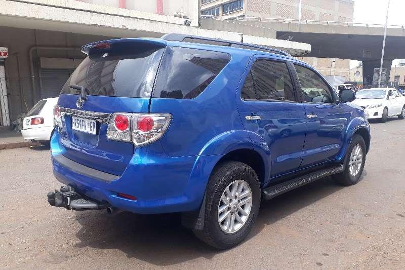Toyota Fortuner 3.0D 4D 2012