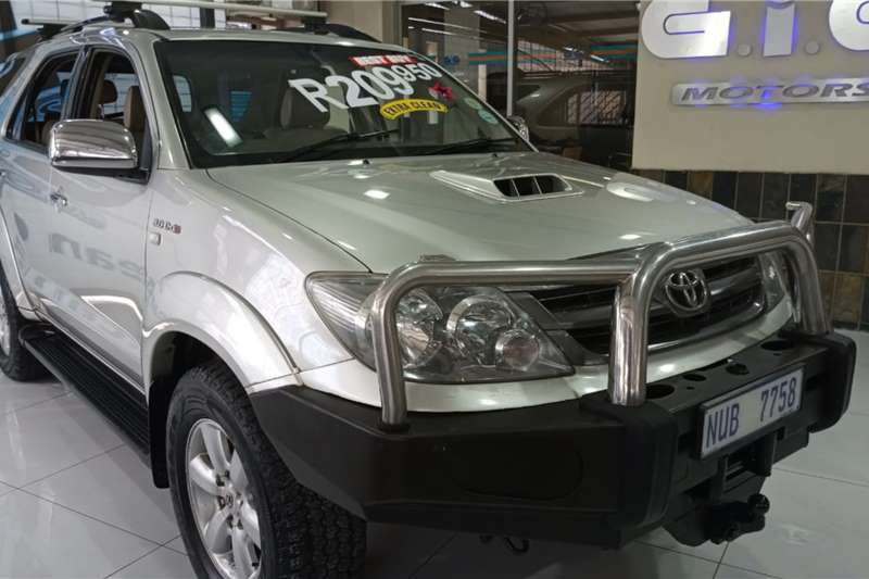 Used 2006 Toyota Fortuner 3.0D 4D 4x4