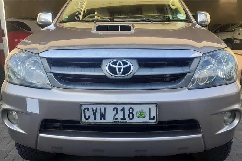 Toyota Fortuner 3.0D 4D 4x4 2009
