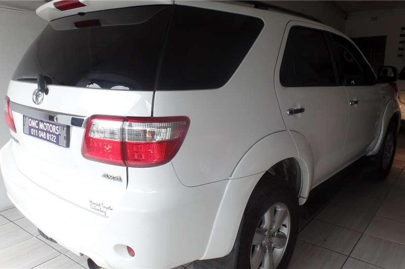 2010 Toyota Fortuner Fortuner 3.0D-4D 4x4