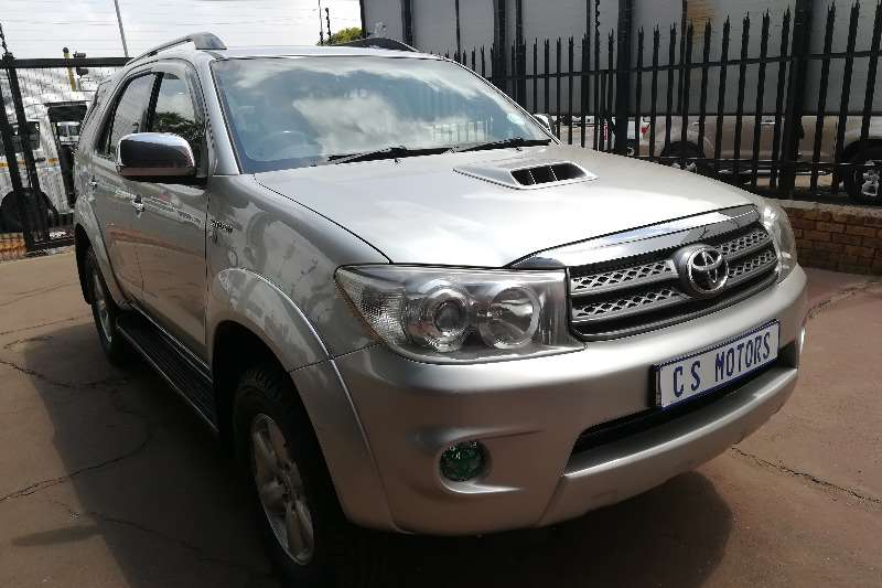 Toyota Fortuner 3.0D-4D 4x4 2011