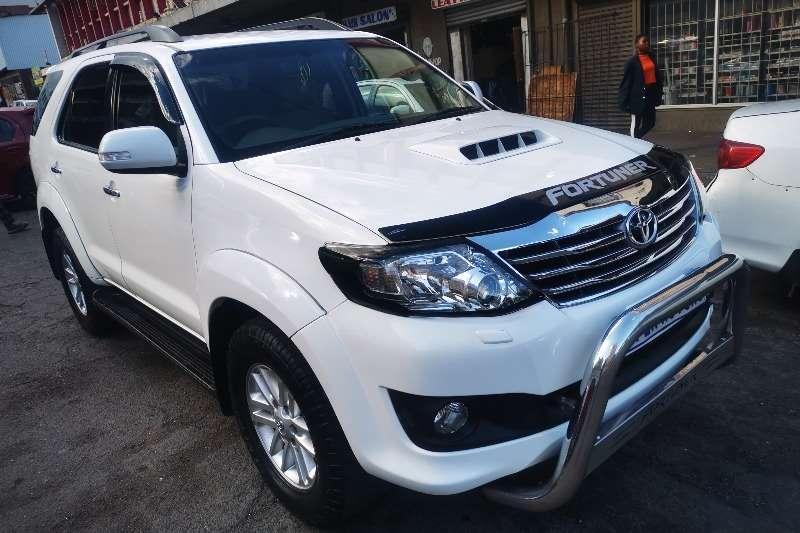 Toyota Fortuner 3.0D 4D 4x4 2011