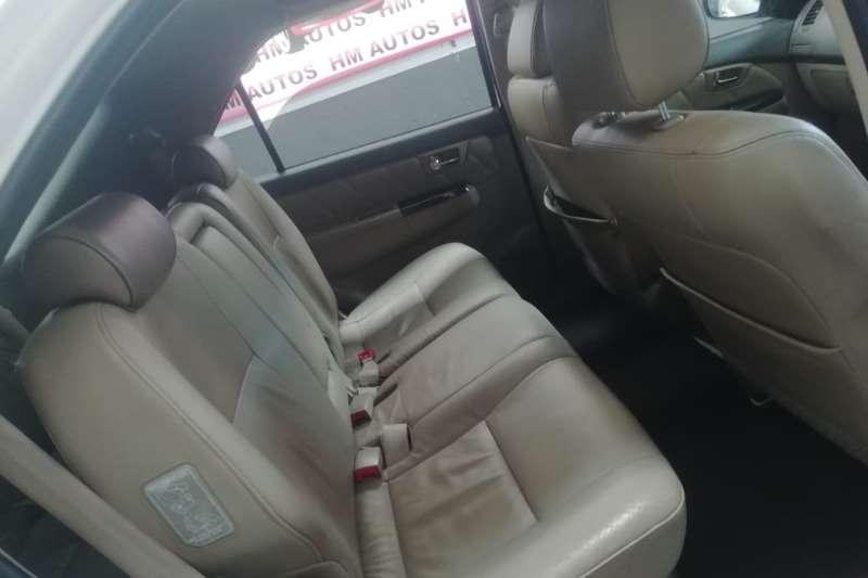 Toyota Fortuner 3.0D 4D 4x4 2012