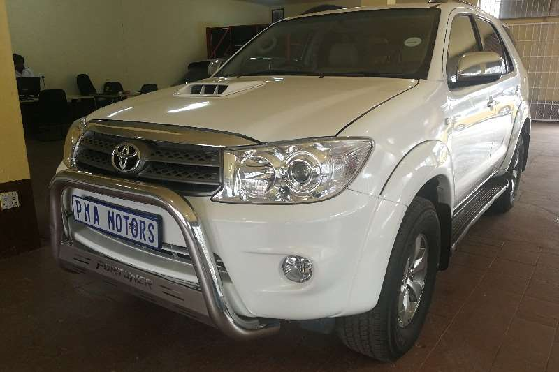 Used 2008 Toyota Fortuner 3.0D 4D 4x4 auto