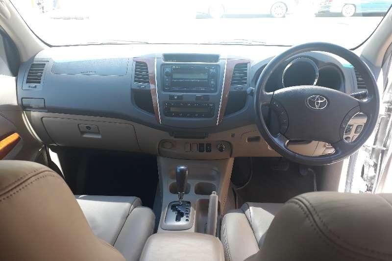 Toyota Fortuner 3.0D 4D 4x4 auto 2009