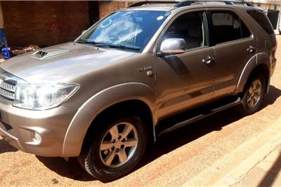 Used 2009 Toyota Fortuner 3.0D 4D 4x4 auto