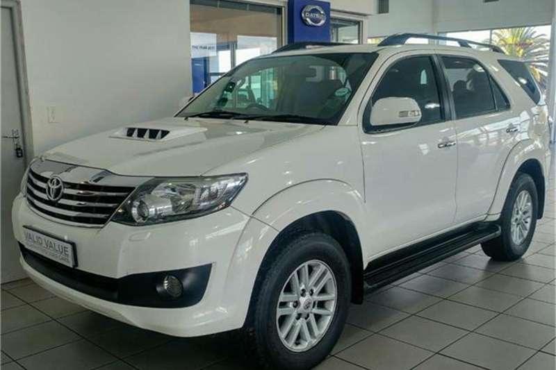 Toyota Fortuner 3.0D 4D 4x4 auto 2012