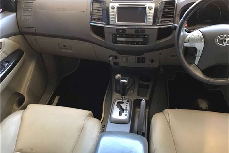 Used 2012 Toyota Fortuner 3.0D 4D 4x4 auto