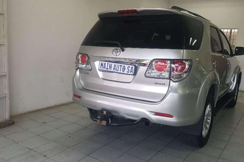 Toyota Fortuner 3.0D 4D 4x4 auto 2013