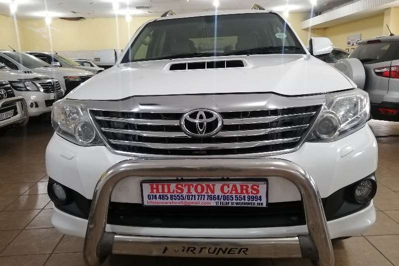 Used 2013 Toyota Fortuner 3.0D 4D 4x4 auto