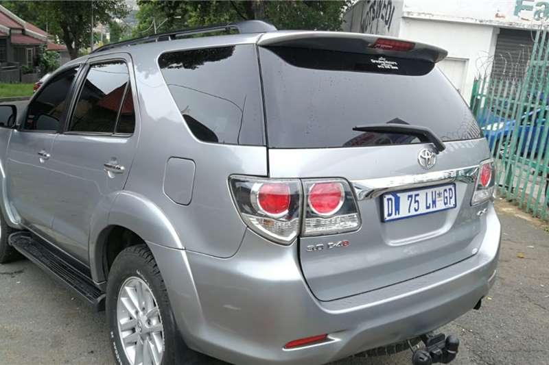 Toyota Fortuner 3.0D 4D 4x4 auto 2015